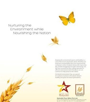 Serendib Flour Mills nurturing the environment while nourishing the Nation