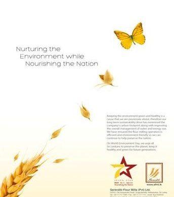 Serendib Flour Mills nurturing the environment while nourishing the Nation