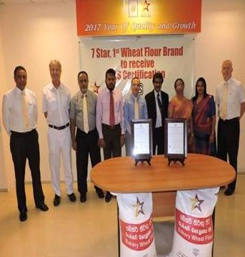 Serendib Flour Mills' 7 Star Flour –  1st wheat flour brand to receive SLS Certification